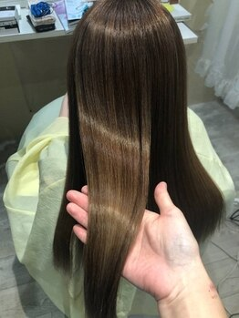 髪質改善 ソアリス 烏丸丸太町店(soiris)の写真/【髪質改善専門サロン】髪質改善サロン専門店だからこそ、薬剤だけに頼らず技術で自然なストレートヘアに。
