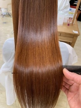 エムアンドスマート 浦安店(M&SMART)の写真/8月2日NEWOPEN*地肌と髪に優しいCTFカラー取扱い*ダメージレスに艶のある絶品カラーを手に入れる―♪