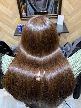 スタンド(STAND)の写真/憧れの天使の輪♪しっかり毛髪診断をし最適なケアで艶やかな潤い感。〔朝霞 和光市 志木〕