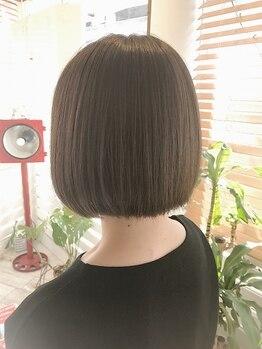 コーラー ヘアアンドスパ(Coller Hair&Spa)の写真/【似合わせならColler Hair&Spa】360度綺麗なスタイルを♪乾かすだけでキマるのは、骨格まで見極めるから◎