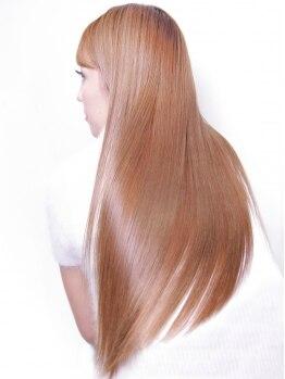クールドセリエ 新宿南口店(Coeur de cellier)の写真/縮毛矯正技術認定店!本当に髪を傷ませない「髪質に合わせた薬剤」で繰り返しの縮毛で傷みに悩んでる方に―