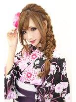 CAPSULE☆浴衣スタイル/ライトブラウン