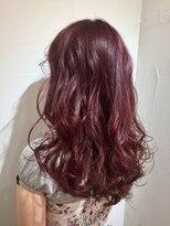 ヘアサロン ドット トウキョウ カラー 町田店(hair salon dot. tokyo color)【rose pink6】ダブルカラーカラーリスト田中