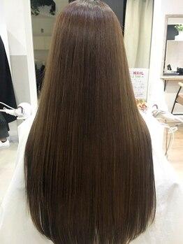 ディシェル(DISHEL)の写真/【oggi otto】で本来の美髪に導く♪トリートメント技術も秀逸なDISHELで髪質改善!清潔感×上品な艶◎