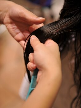 ヘアーサロン シエル(haira salon ciel)の写真/<町屋>まだ諦めないで!髪を切らずに徹底ダメージ補修。紫外線・乾燥でお悩みの方にオススメ☆