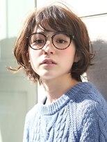 『大人女子×可愛い×モード×メガネ』くすみカラー