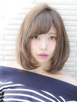 ヘアリゾート エーアイ 浅草橋店(hair resort Ai)透明感ミルクティーベージュ