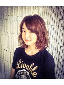 大賀 ヘアビューティ(Oga Hair beauty)ホワイティーアッシュ