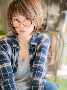 カバーヘア ブリス 戸田公園店(COVER HAIR bliss)*+COVER HAIR+*…前髪がアクセント♪大人ボブa