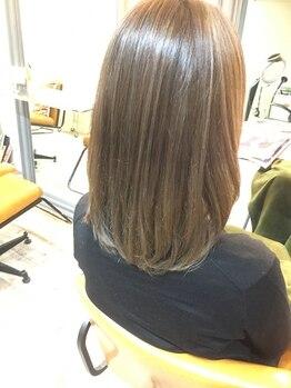 アイエヌジー(i.n.g)の写真/第一印象は髪質で決まる☆《i.n.g》のトリートメントで髪質改善!艶っぽくエレガントな大人女性に◎