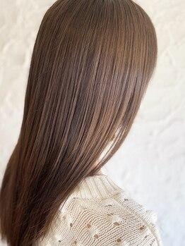ヘアメイク ミエル(HAIR MAKE miel)の写真/テレビや雑誌でも話題!!髪質改善ケア『水素プレミアムトリートメント』が大人気!!