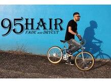 ナインティーファイブヘアー(95 HAIR NINETY FIVE HAIR)の雰囲気(スキンフェード・バーバースタイルはお任せください)