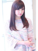 【Creo】Sweetベリーピンクロング#イメチェン#毛先パーマ