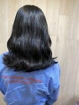 リゾートフォーヘアー 嵯峨店(ReSORT FOR HAIR)韓国風ブルーブラック