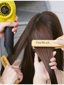 美容室アンフィニスペースの写真/【髪の悩みをしっかりサポート☆】ぺたんこ・パサつきのお悩みも解決◎毛先までなめらかな質感を手に入れて