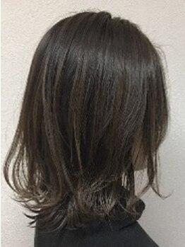 シャンティー(Shanti)の写真/【グレイカラー/白髪染め】30~40代OL・主婦からの支持多数!毎月のカラーリングもダメージレスに☆