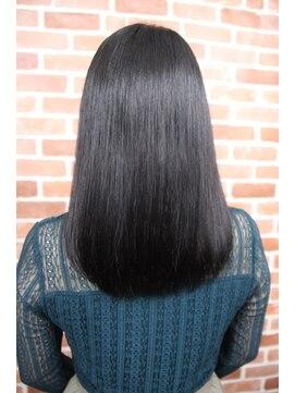 シュガービー(SUGAR-B)【SUGAR-B】就活カラー 黒髪ストレート