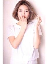 ルクスス(Ruxus)エアリーボブ×ハイライト×髪質改善×駒澤大学駅