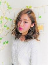トモズヘアデザイン(Tomo's Hair Design)【tomos】大人可愛い ゆるボサロブ 担当naoya@