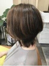 ジェニックヘアー(genic hair)ニュアンスショート