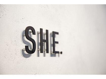 シーヘアデザイン(SHE.hair design)の写真