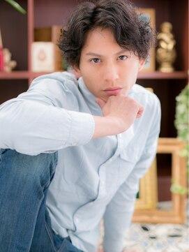 カバーヘア ブリス 戸田公園店(COVER HAIR bliss)*+COVER HAIR+*…スーツもキマル!ワイルドミディアムa