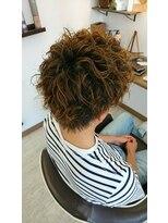 ヘアーサロン ループ(hair salon Loop)スパイラルミックスパーマ
