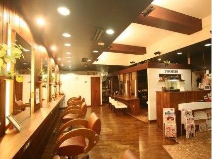ヘアーデザイン ルームス(hair design rooms)の写真