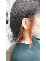 クッキー ヘアーアンドメイク(COOKIE Hair&Make)【COOKIE】インナーカラーボブ
