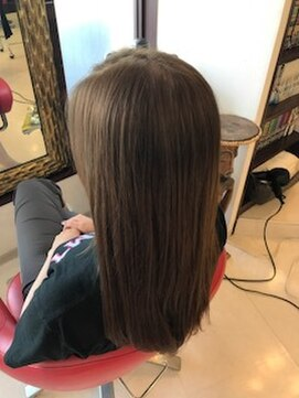 ヘアーメイク カリユ(HAIR MAKE kariyu)アッシュベージュカラー