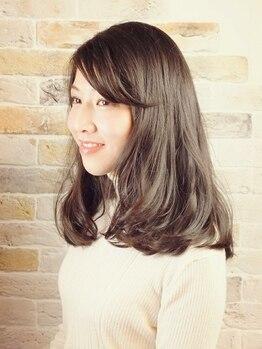 ノッティングヒル ヘアーアンドユー(NOTTINGHILL hair&you)の写真/乾燥による髪へのダメージケアにもオススメ!水素トリートメントで理想のサラサラ美髪がつづく♪