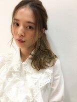 [Garland/表参道]☆おくれ毛ひとつ結びアレンジ☆