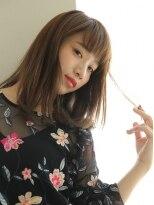 ショコラ アベノ(Chocolat ABENO)ワイドバンク★艶髪ミディロング