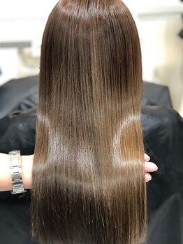 プログレス フレスポ富沢店(PROGRESS)の写真/髪質に合わせたこだわりの薬剤でしっとりorうる艶に!TOKIOトリートメント,酸熱トリートメント取扱い有り♪
