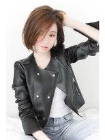 ウノプリール 梅田店(uno pulir)☆unopulir☆ クラシカルモードなきりっぱしボブ