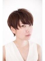 ジル ヘアデザイン ナンバ(JILL Hair Design NAMBA)透明感あるクールショート♪