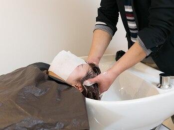 エアーズワーム 戸田公園店(airs warm)の写真/美しい髪質は頭皮から♪極上の【ヒーリングヘッドスパ】で、頭皮を心地良くマッサージ!癒しの時間を…☆