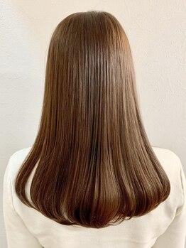 ノイエ(noie)の写真/【気になるクセもあなたの魅力に♪】髪質に合わせて繊細にカットするから,お手入れ簡単な似合わせStyleに♪