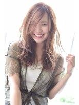 ヘアーサロン エール 原宿(hair salon ailes)(ailes原宿)style257 デザインカラー☆無造作ウェットラフ