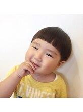 ヘアープレイス アルコ(HAIR PLAYCE ARCO)可愛さ120%!!キッズツーブロック・キノコテイスト☆