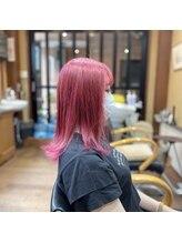 ヘア ロココ(hair LOCOCO)ピンクヘア