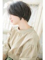 モッズ ヘア 福岡姪浜店(mod's hair)*mod's姪浜*…斜めバングのアシメショートa