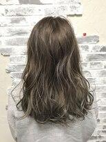 ポッシュ 原宿店(HAIR&MAKE POSH)アッシュグレーグラデーション