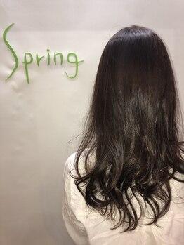 スプリング(Spring)の写真/springおすすめ≪デジタルパーマ≫はコテで巻いたような女性らしい仕上がりでお客様に人気のメニューです☆