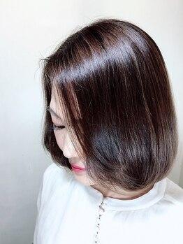 ピコセコンド(PICO SECOND)の写真/【話題のザクロペインター導入!】髪質改善の白髪染め♪カラーする度に艶めく健康な髪へ・・・