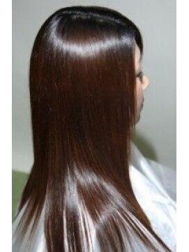 縮毛矯正専門店 ヘアーデザインリンク 八王子(Hair Design Link)ダメージ修正。縮毛矯正。