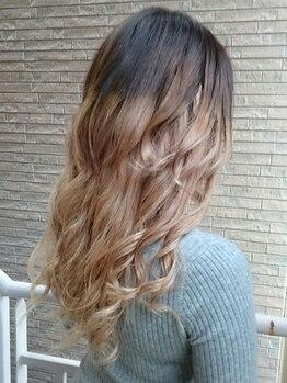 ヘアーアンドエクステンション ラファ(Hair&Extension rafa)の写真/【最長6ヶ月持続!!】【県内唯一!!】特許を取得したオリジナルの編み込みで実現♪高品質で自然な仕上がり☆
