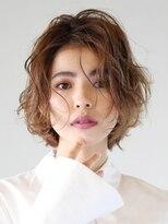 ヘアアンドメイク アース 入間店(HAIR&MAKE EARTH)外国人風クセ毛ボブ