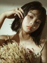 セカンドルーム ティーシーヘアー(2nd room TC hair)黒髪ぱっつんボブ