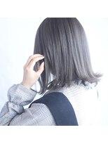 テクライズ 名駅店(TECHRISE)TECHRISE★スノーアッシュグラデーション×外ハネボブby角谷